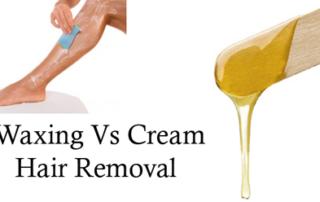 Hair Removal Cream Vs Waxing